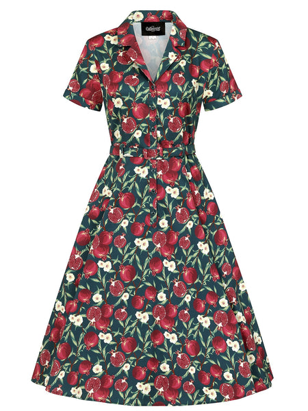 Caterina  Pomegranate Swing Dress