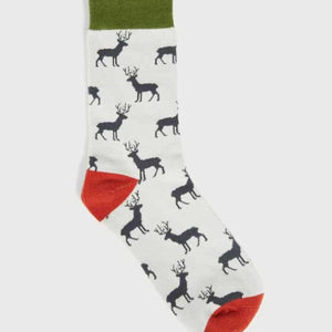 Mens Socks - Stag Brown