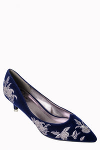 Magic Dance Shoes - Blue - Bowler Vintage