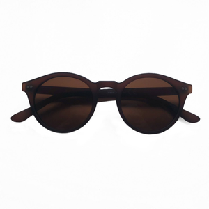 Charlie Round Sunglasses -  Brown