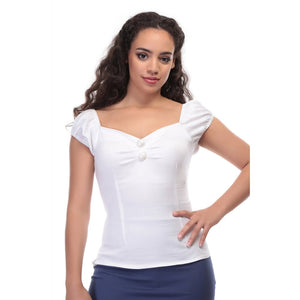 Dolores Top - Plain - Bowler Vintage