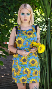 Sunflower Twill Pinafore