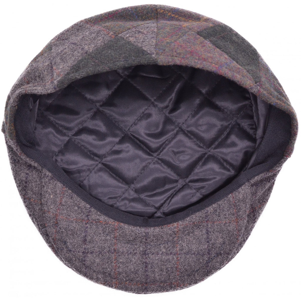 04a3e8161e12b ... Patched Tweed Flat Cap - Bowler Vintage