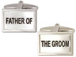 Father of The Groom Wedding Cufflinks - Bowler Vintage