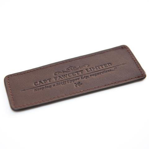 Leather Case For Beard Comb - Bowler Vintage