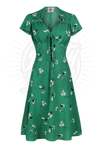 Pretty 40s Tea Dress - Secret Garden Was £60 Now £40