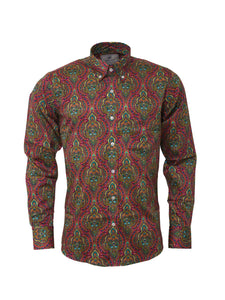 Psychedelic Print shirt - RSW 614 PLT