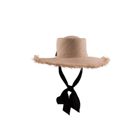 Esther  Straw Hat - Bowler Vintage