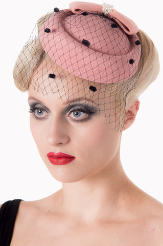 Judy Pillbox Hat - Bowler Vintage