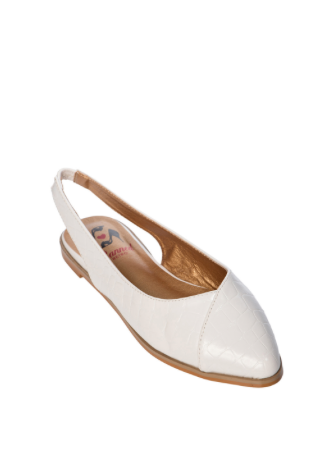 Cove Pointed Slingback Flats