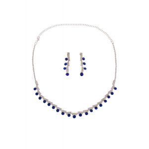 Tina Jewellery Set - Blue