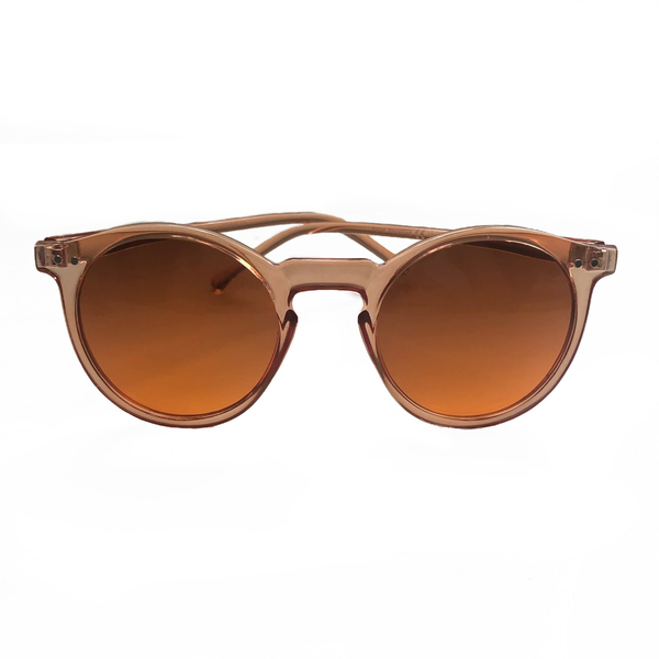 Robin Round Sunglasses - Peach