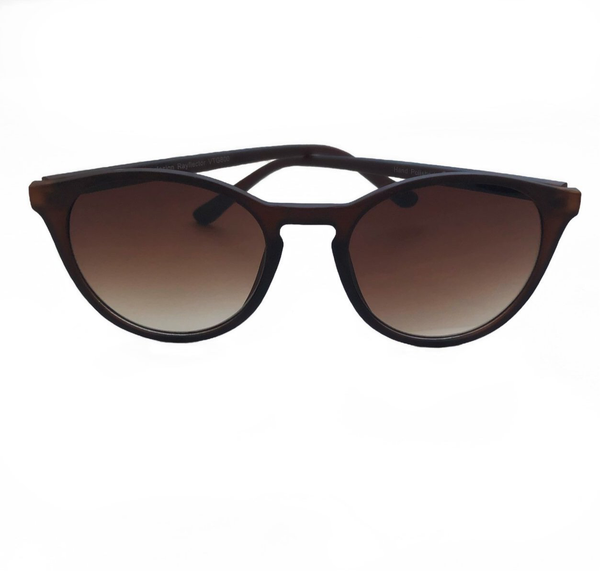 Debra Sunglasses - Matte Brown