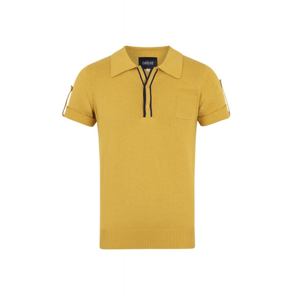 JORGE PLAIN KNITTED POLO SHIRT