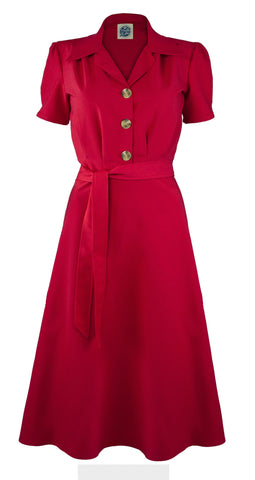 40's Shirt Dress - Bowler Vintage