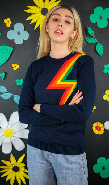 Lightning Rainbow Full Length Jumper