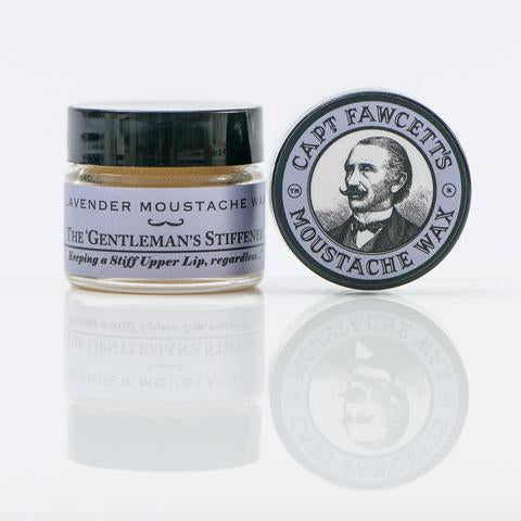 Captain Fawcett Moustache Wax - Bowler Vintage
