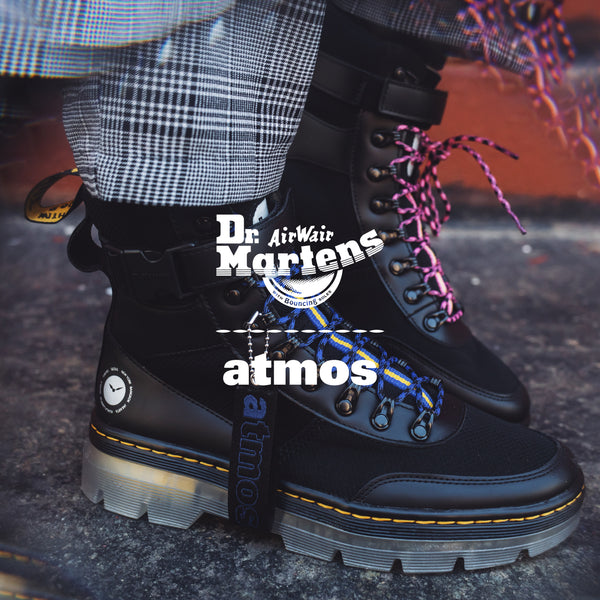 Dr. Marten's x atmos: A clash of modernity and tradition