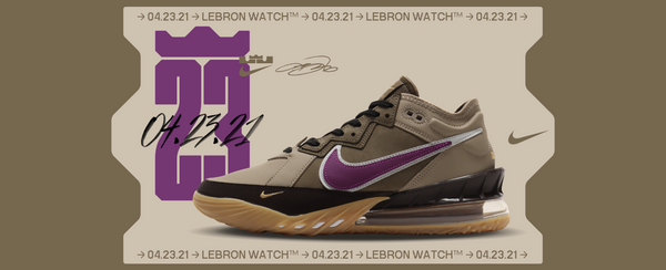 atmos x Lebron 18 available now