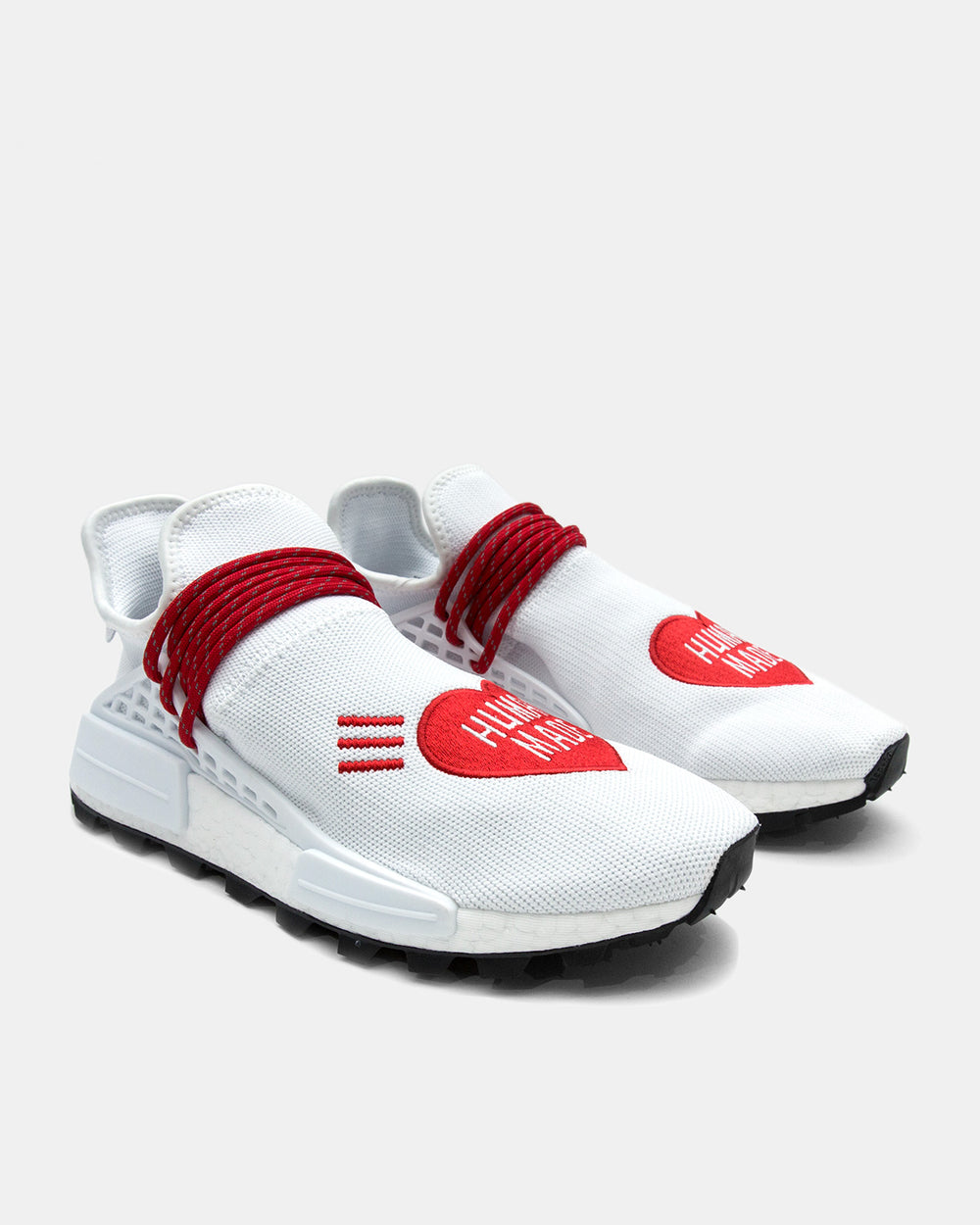 adidas Consortium - Pharrell Williams HU NMD Human Made (Cloud White | Scarlet | Core Black)