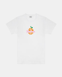 Orange Harlem Tee (White)