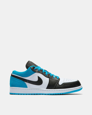 Air Jordan 1 Low SE (Black | Black | Laser Blue | White)