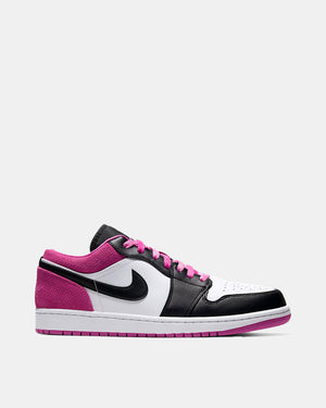 Air Jordan 1 Low SE (Black | Black | Active Fuchsia | White)