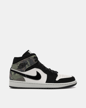 Air Jordan 1 Mid SE (Light Bone | Black)