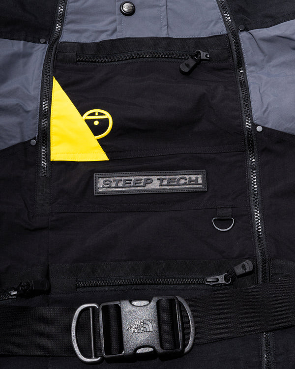 Steep Tech Jacket (Black | Grey | Yellow)