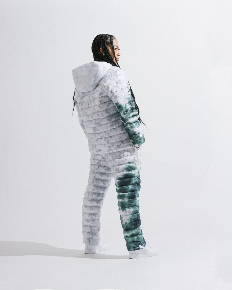 Nike x Stussy NRG ZR Insulated Pants (White | Gorge Green)