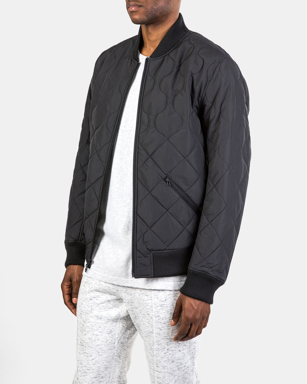 Wings + Horns x adidas Originals Insulated Bomber (Black)