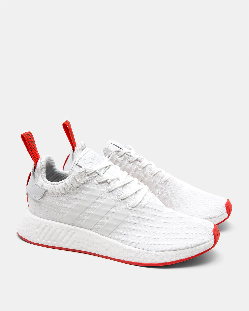 adidas - NMD R2 Pk (White | Red)