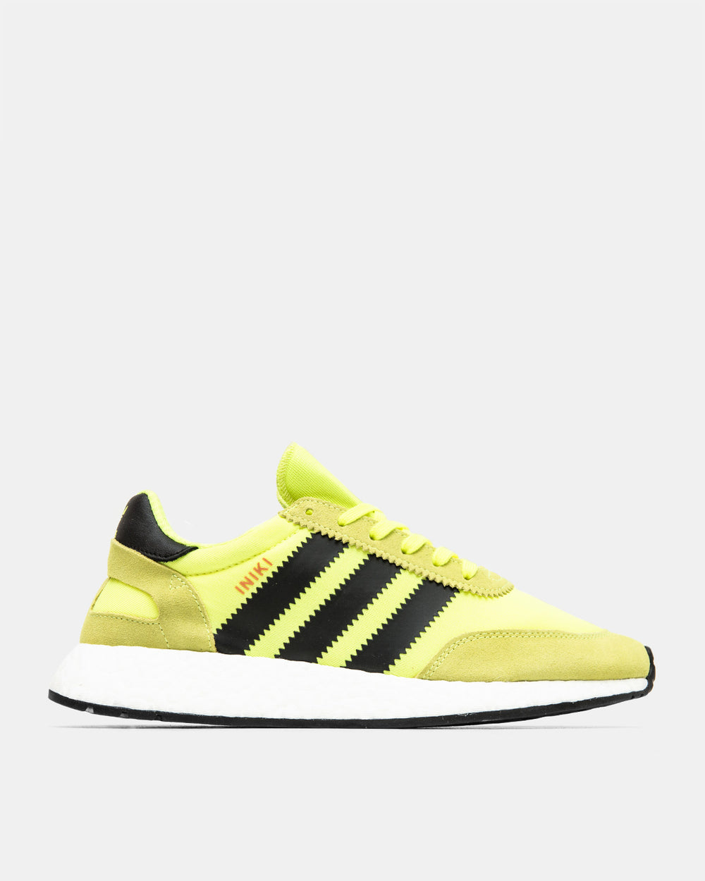 adidas - Iniki Runner (Solar Yellow | Core Black | Footwear White)