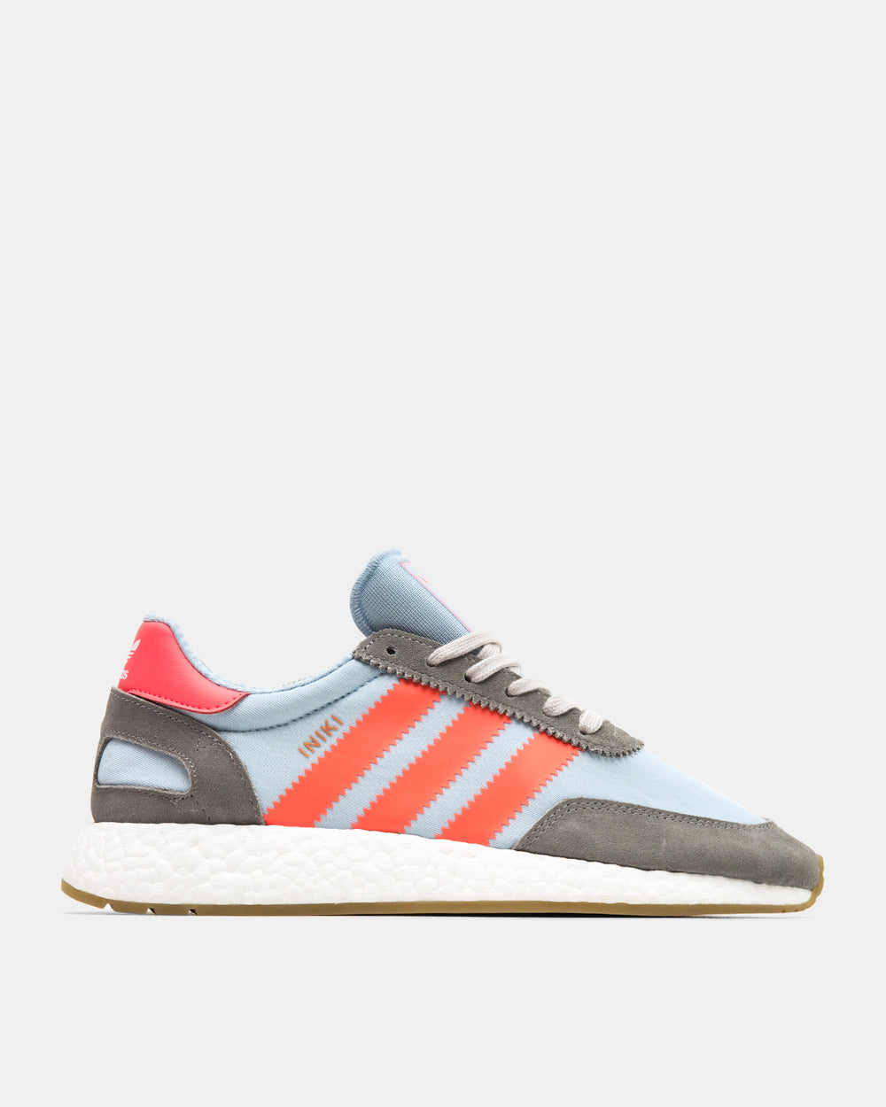 adidas - Iniki Runner (Charcoal Solid Grey | Turbo | Gum)