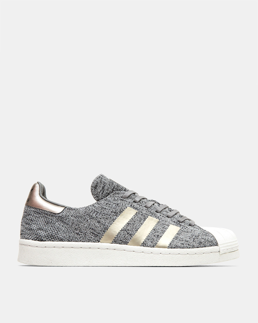 adidas - Primeknit Superstar Boost (Light Solid Grey | Multi Solid Grey | Charcoal Solid Grey)