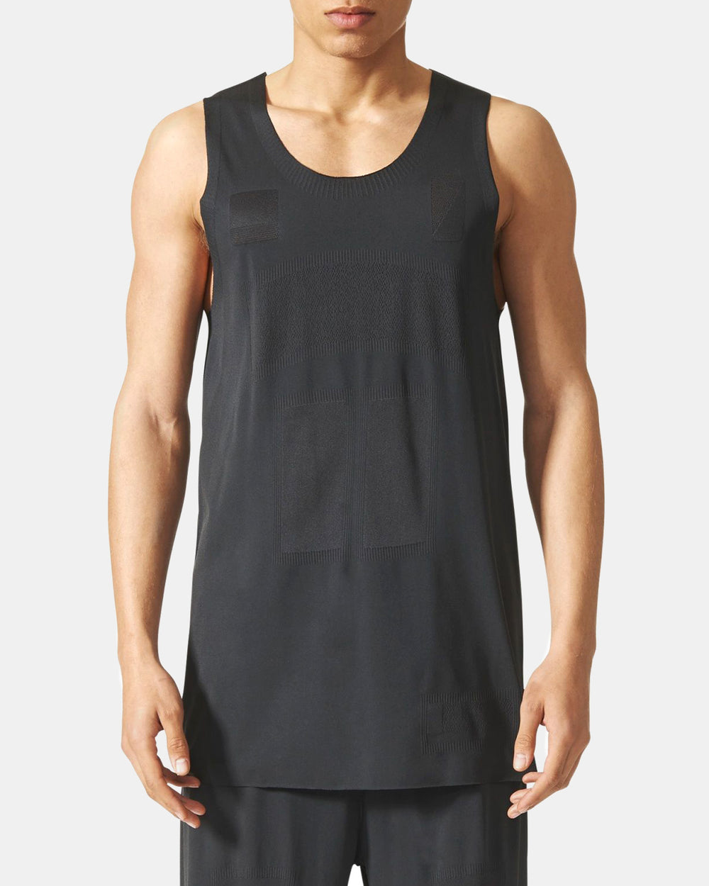adidas - Day One Seamless Tank Top (Solid Grey)