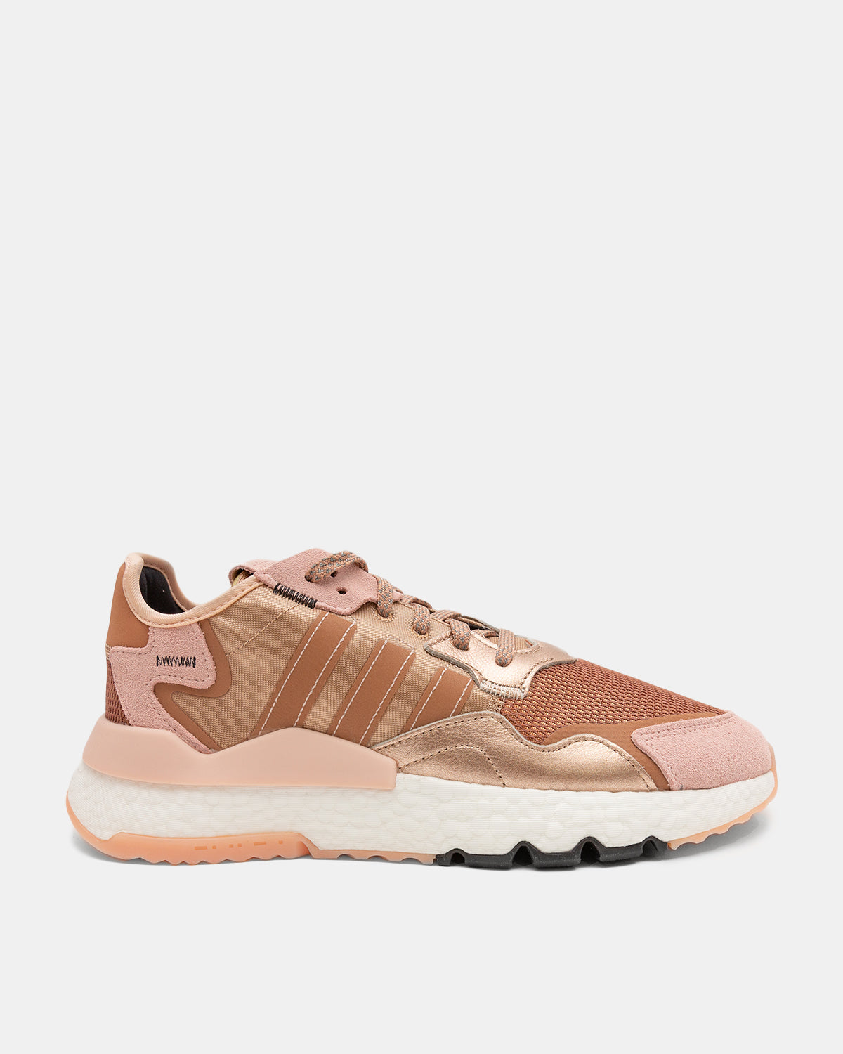 adidas - Women's Nite Jogger (Rose Gold Metallic | Vapor Pink | Core Black)