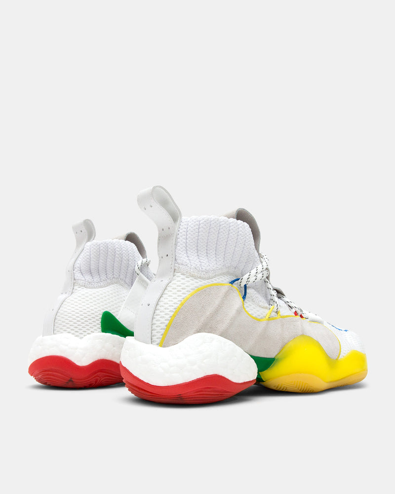 adidas Consortium - adidas Consortium x Pharrell Williams Crazy BYW LVL X (Footwear White | Yellow)