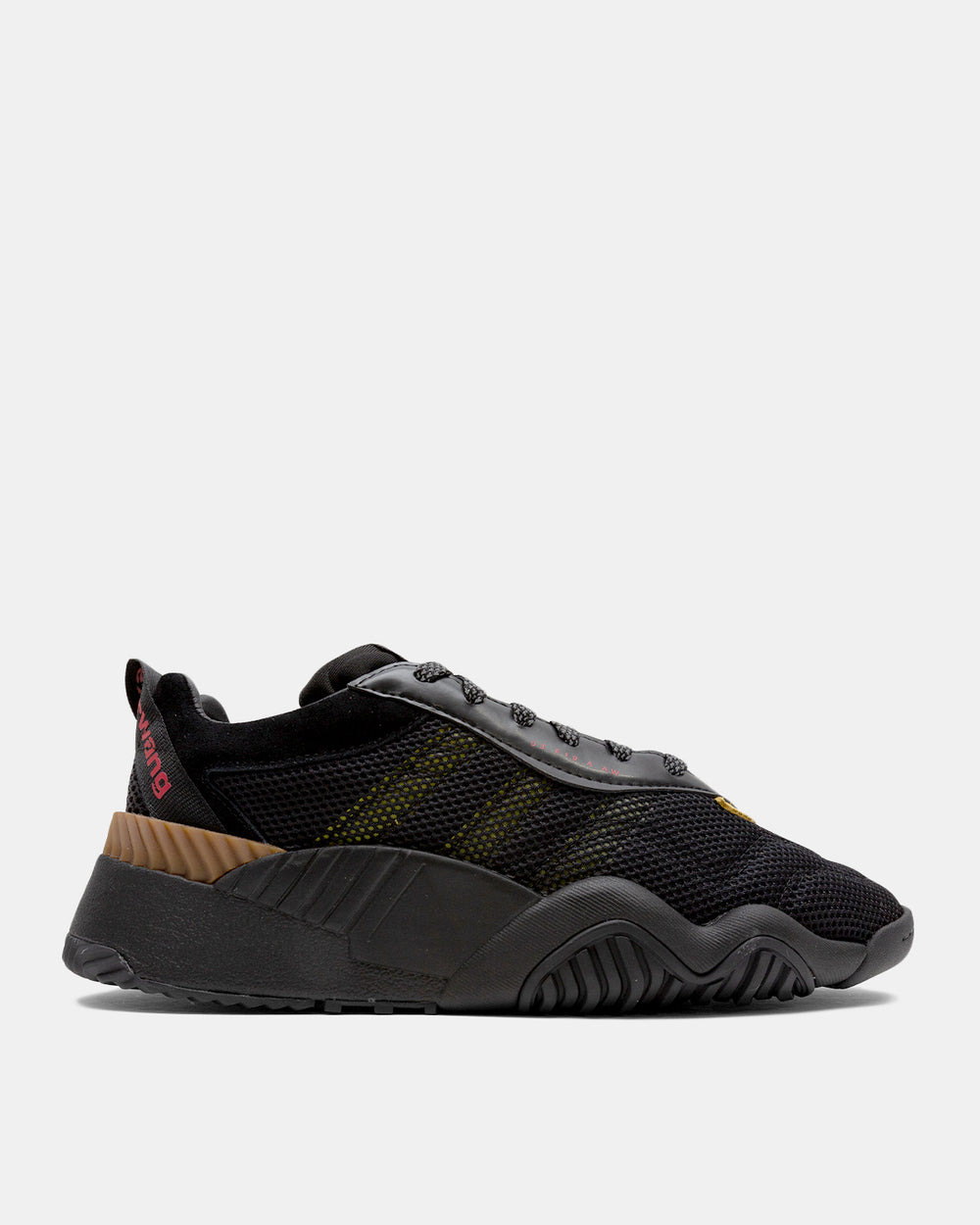 adidas Consortium - AW Turnout Trainer (Core Black | Yellow | Light Brown)