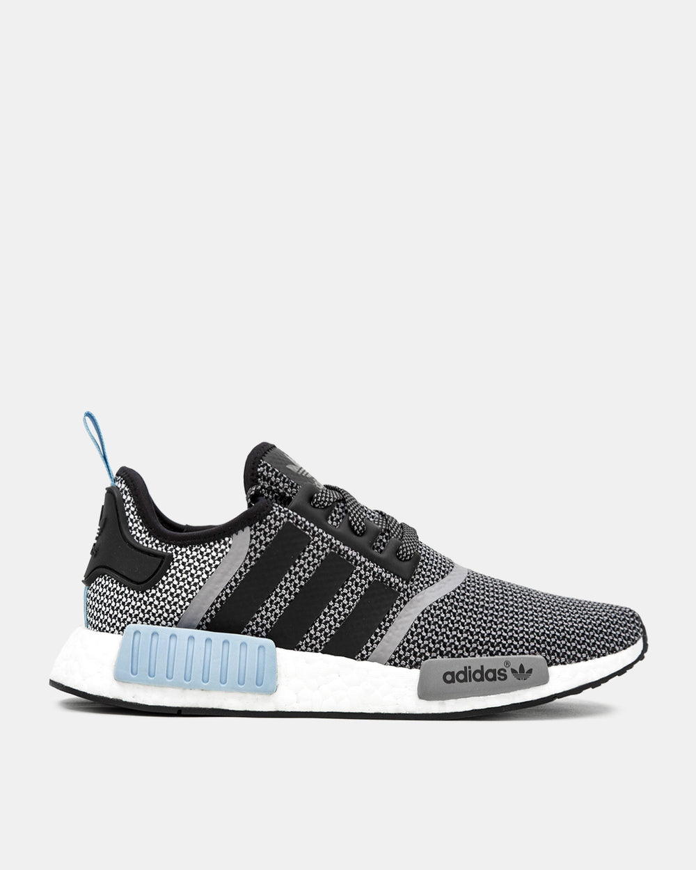 adidas - NMD R1 (Core Black | Clear Blue)