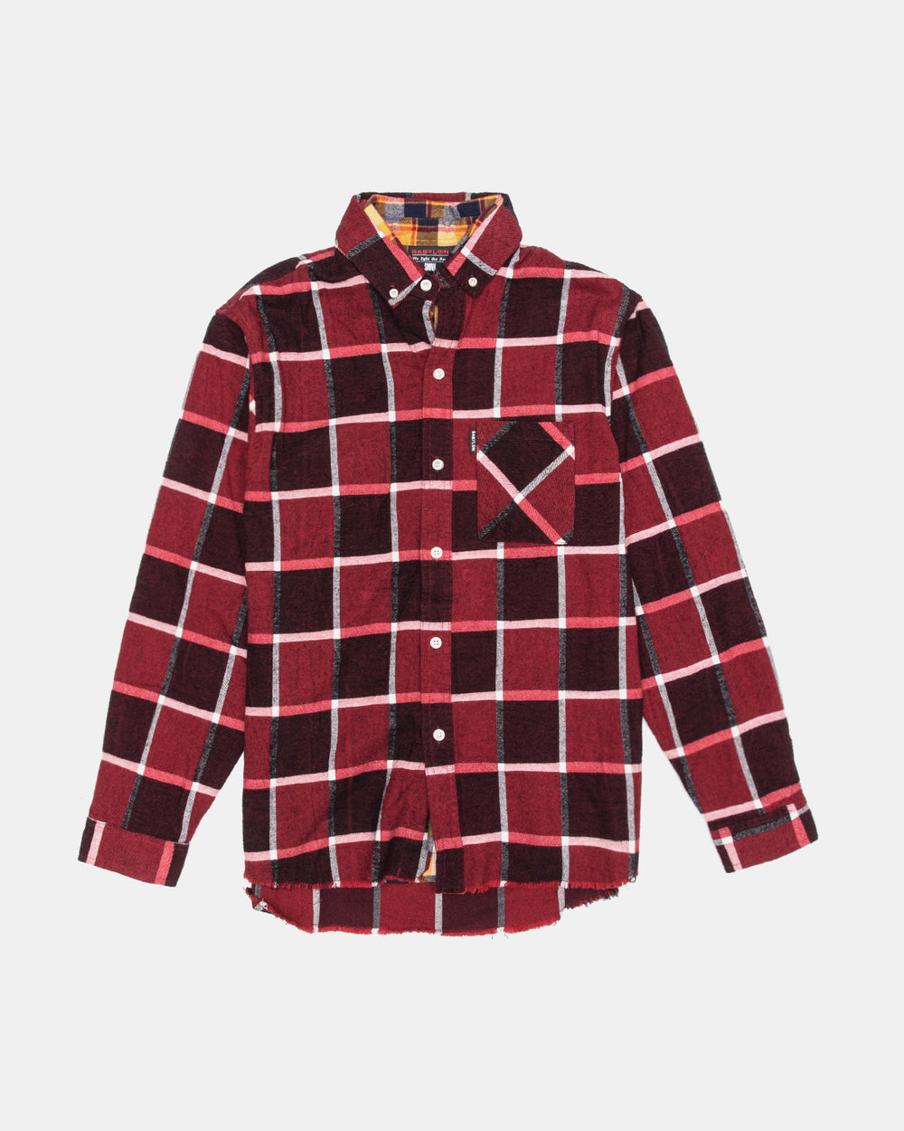 Babylon LA - Double Layer Shirt (Red)