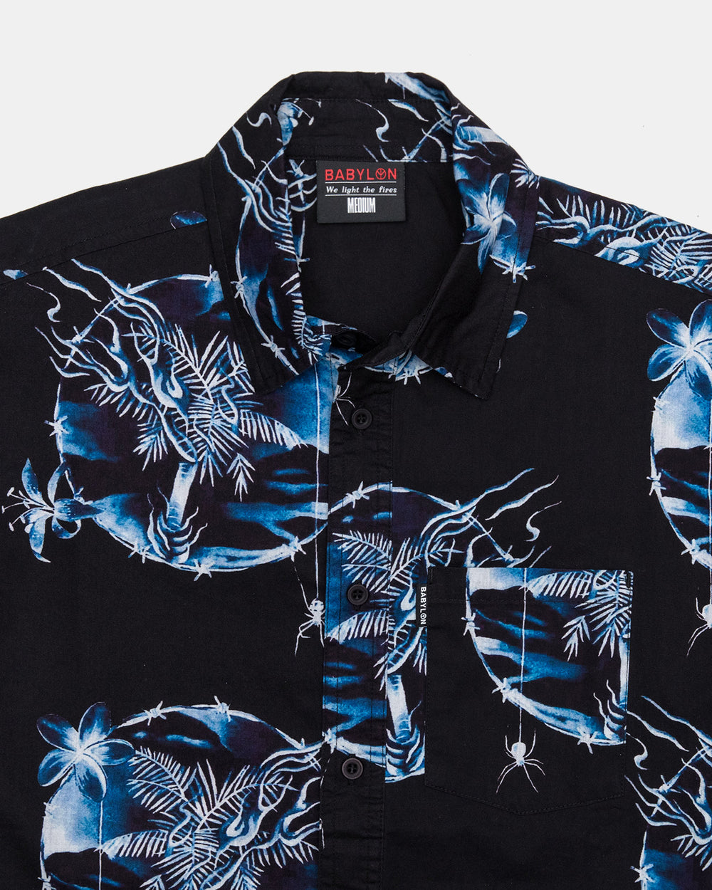 Babylon LA - Othelo Button Up (Black)
