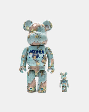 Medicom Toy - UBIQ x atmos Map Be@rbrick (100% | 400%)