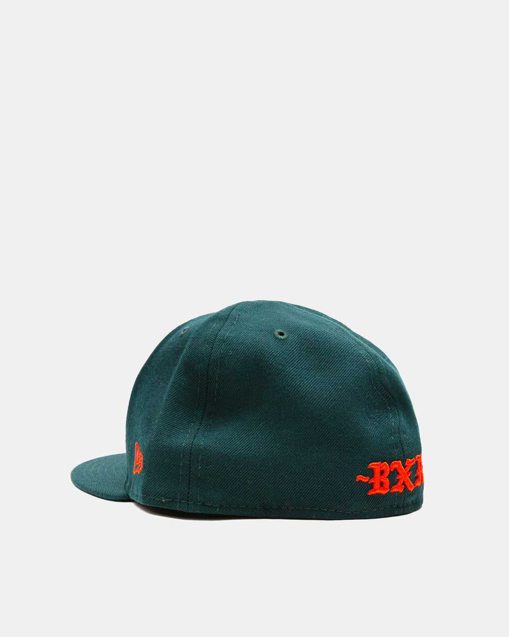 Born x Raised - New Era Major League Fitted Hat (Emerald Green)