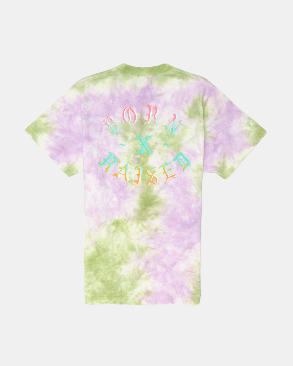 Born x Raised - Washed Rocker Tee (Tie Dye)