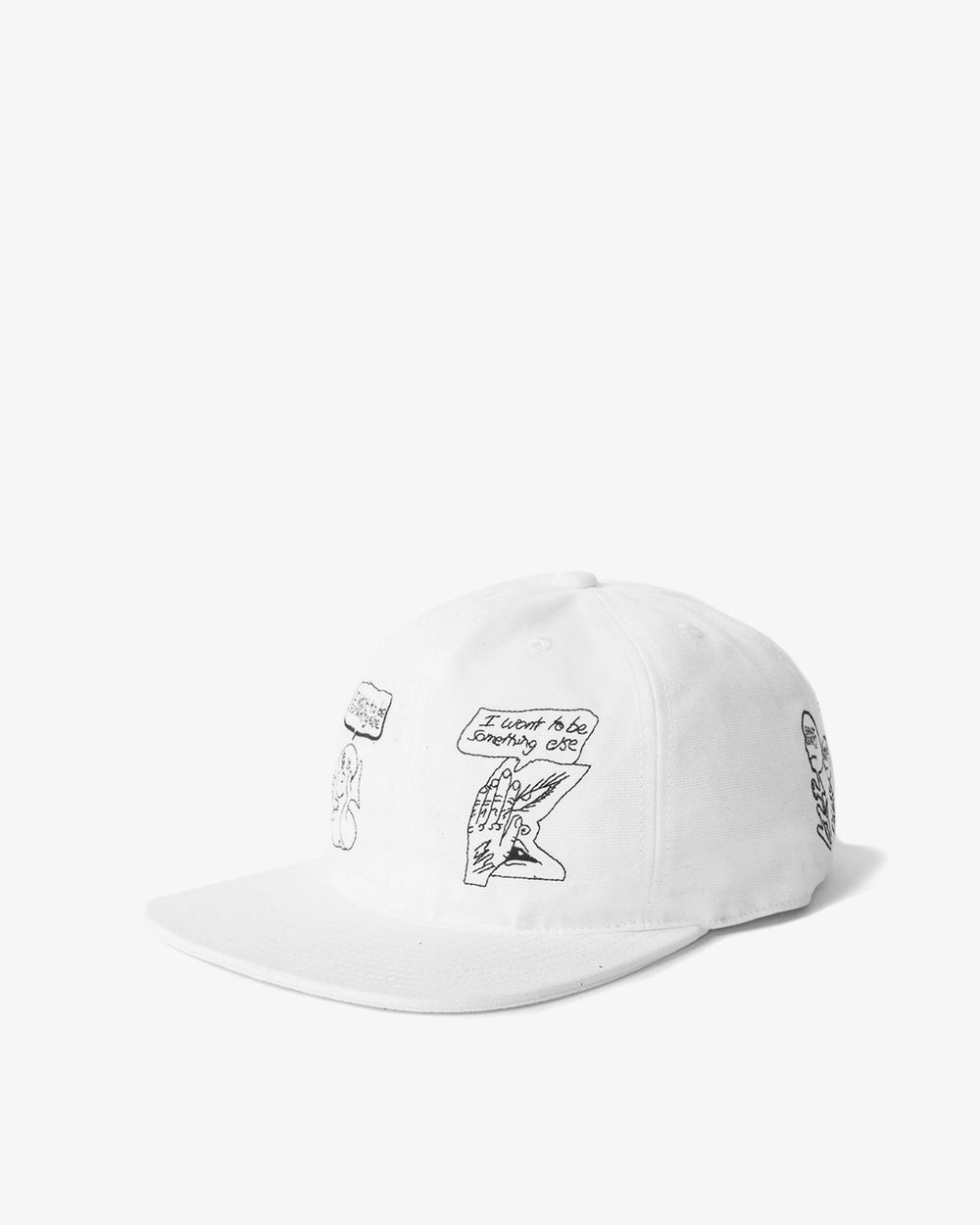 Brain Dead - Leon Sadler Strap Back Hat (Cream)