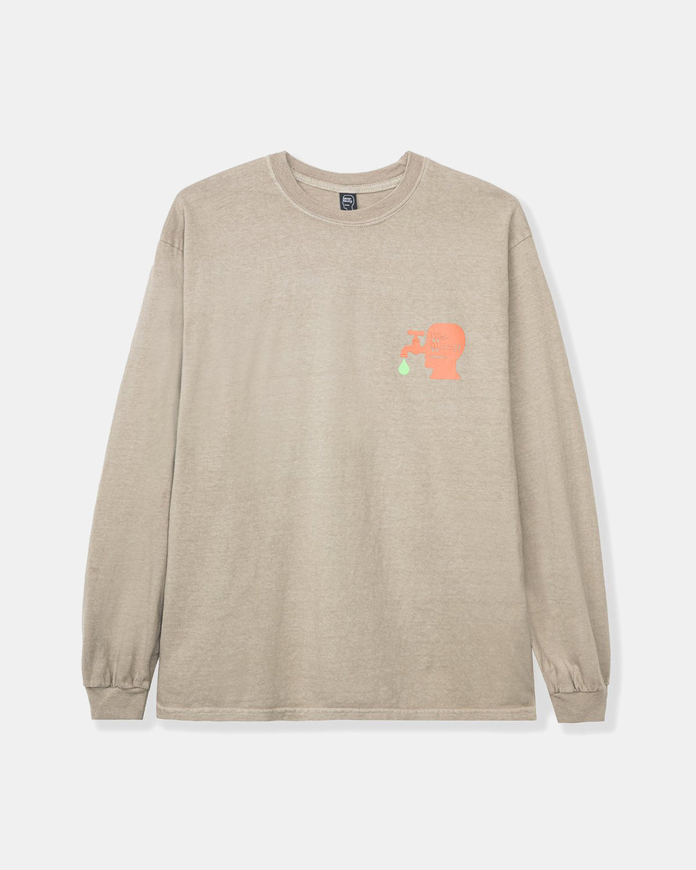 Brain Dead - Wet Works Long Sleeve (Natural)