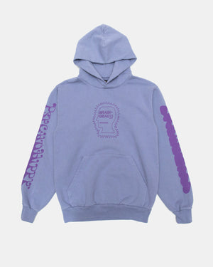Brain Dead - Psycho Hippy Hoodie (Washed Blueberry)