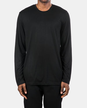 Brandblack - Long Sleeve Tech Tee (Black)