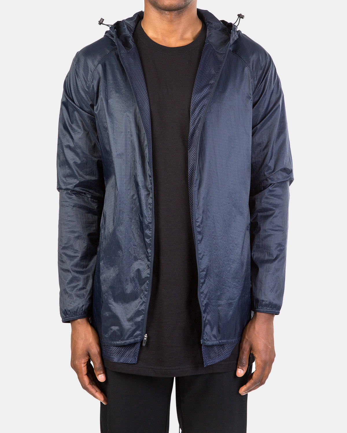 Brandblack - Damon Hooded Shell (Navy)